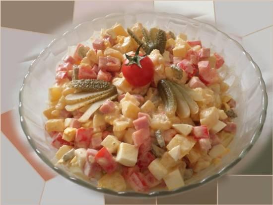 Пьемонтский салат (Salade piemontaise)