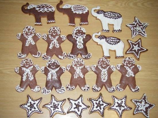 Печенье имбирное с патокой