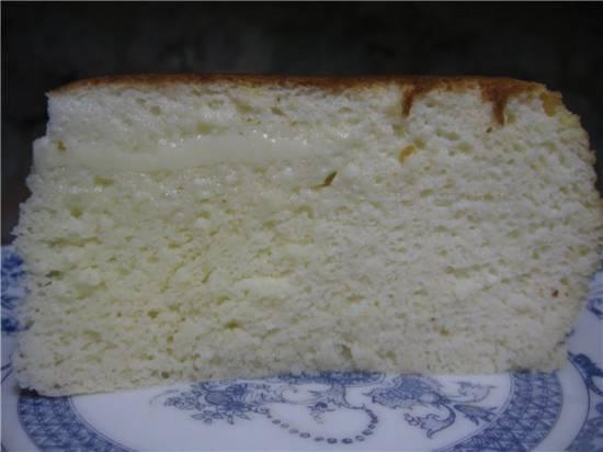 Крем-суфле творожно-йогуртовый