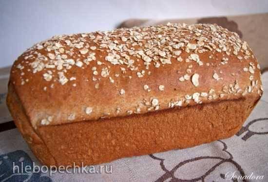 Цельнозерновой дрожжевой хлеб (рецепты)