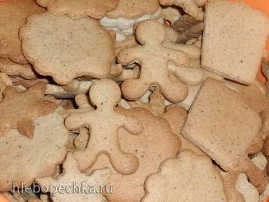 Печенье имбирное (Gingerbread cookies)