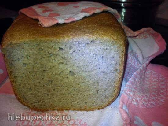 Хлеб гречневый на закваске Хлеб гречневый на закваске