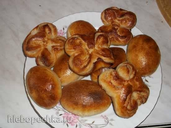 Пирожки печеные (тесто только на закваске)