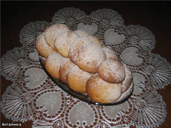 Печенье апельсиновое с корицей