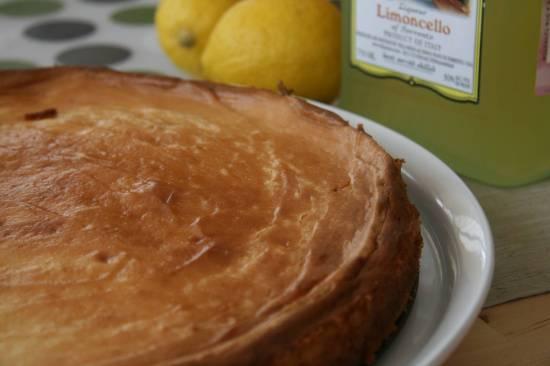 Чизкейк лимонно-медовый