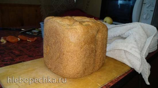 Пшеничный 100% цельнозерновой  хлеб (базовый)