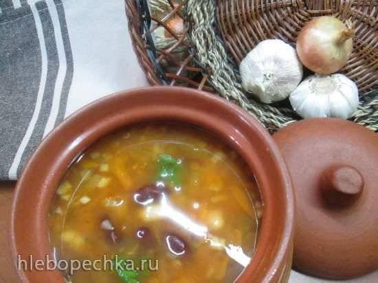 Суп из фасоли с пряностями Три боба