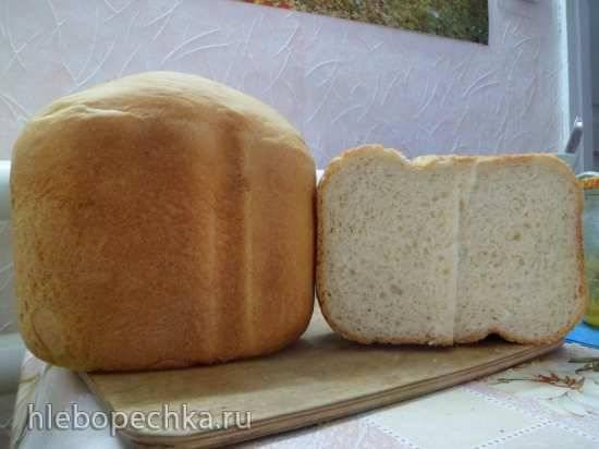 Хлеб пшеничный на закваске в хлебопечке