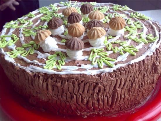 Торт Пень