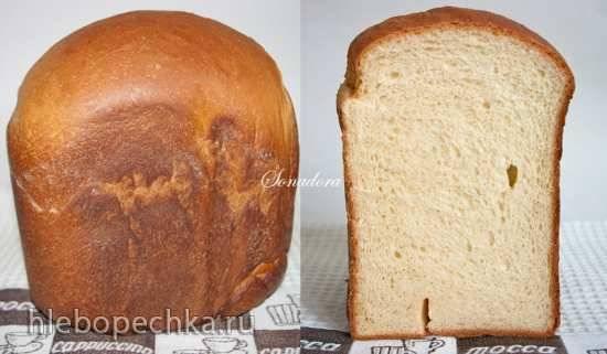 """Хлеб пшеничный """"Сырный кусочек Италии"""" в хлебопечке"""