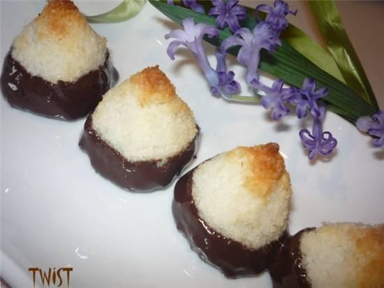 Имбирно-кокосовые пирамидки