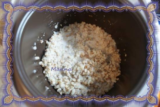 Каша молочная гречневая (мультиварка Redmond RMC-01)