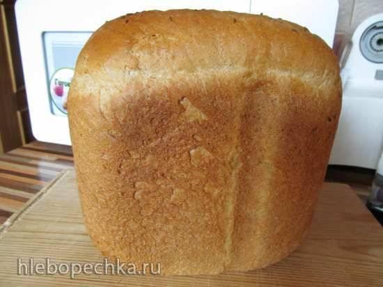 Хлеб пшенично-ржаной с белком в хлебопечке