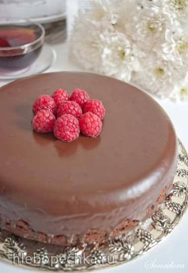 Шоколадный пирог с кабачком (постный)