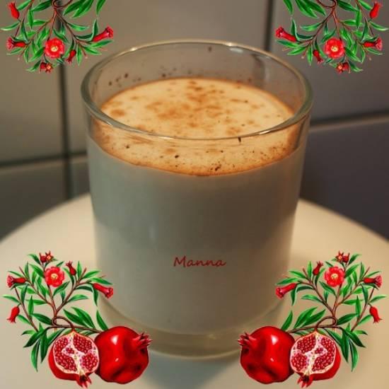 """Молочный коктейль """"Гранатовый"""""""