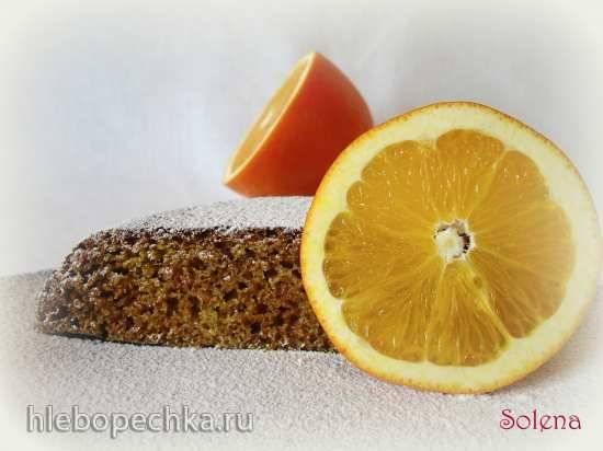 Лимонные (апельсиновые) кексы на сыворотке Кекс апельсиновый с цельнозерновой мукой в мультиварке Redmond RMC-01
