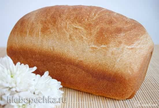 Легкий пшеничный цельнозерновой хлеб от Питера Рейнхарта