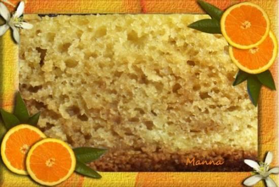 Кекс апельсиновый в скороварке Brand 6060