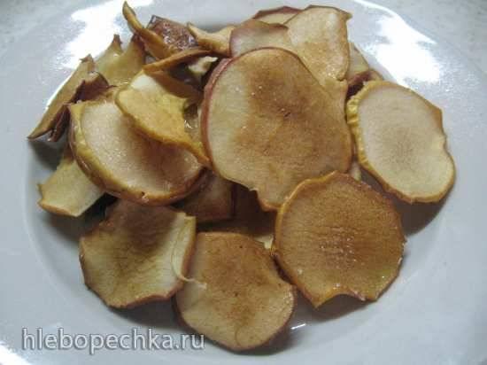 Яблоки в сахарной глазури по рецепту БА