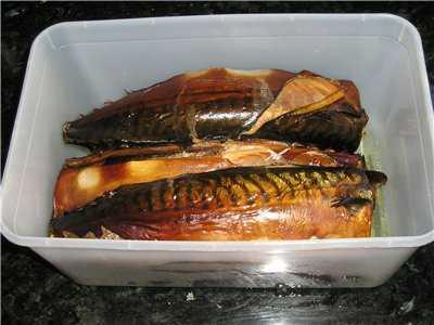 Рыба копченая в скороварке