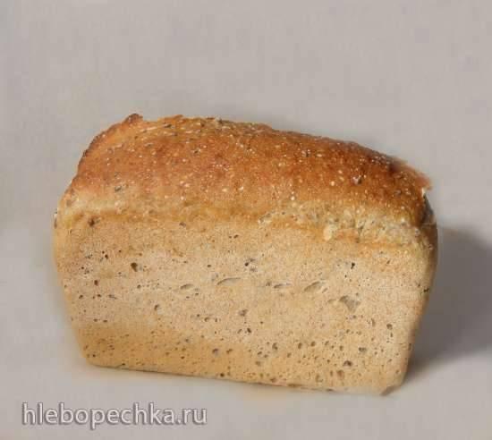 Хлеб с отрубями и семенами льна
