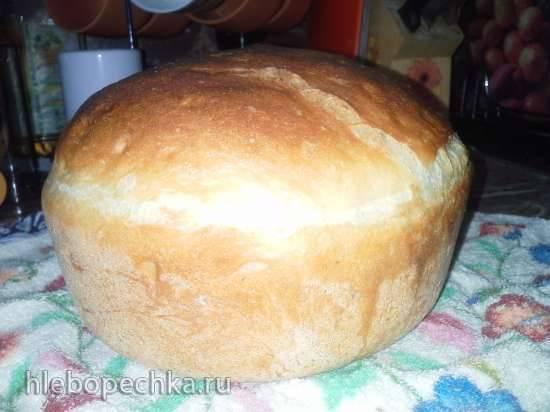 Заварной хлеб нa опаре долгого брожения (пулиш)