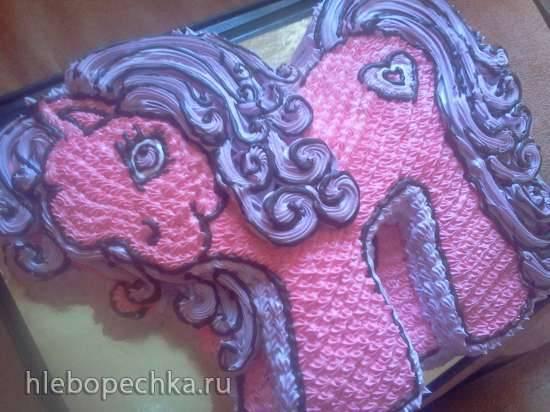 """Торт """"Пони"""" Мастер-класс"""