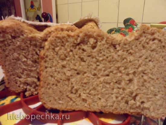 Быстрый хлеб с отрубями и хлопьямиБыстрый хлеб с отрубями и хлопьями