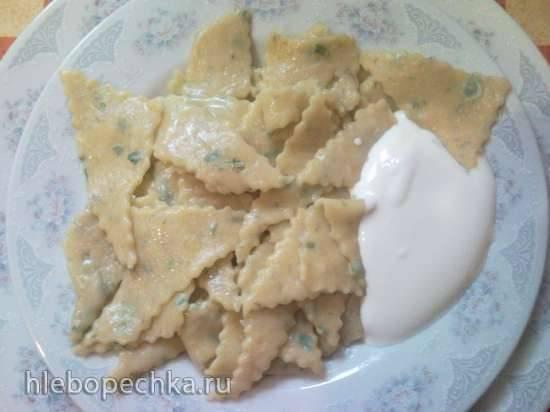 Тесто для лапши тыквенно-картофельное Тесто для лапши тыквенно-картофельное