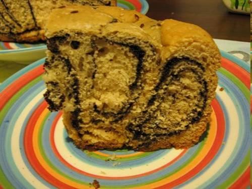 Хлеб пшеничный Маковая завитушка (хлебопечка)