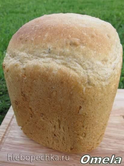 Scarlett-400. Пшенично-ржаной хлеб с семенами в хлебопечке