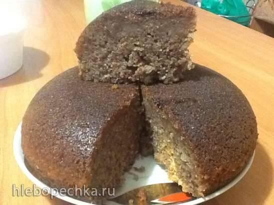 Сливово-миндальный кекс Сливово-миндальный кекс