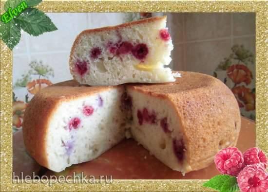 Маффины с малиной Творожный кекс с малиной (скороварка Brand 6050)