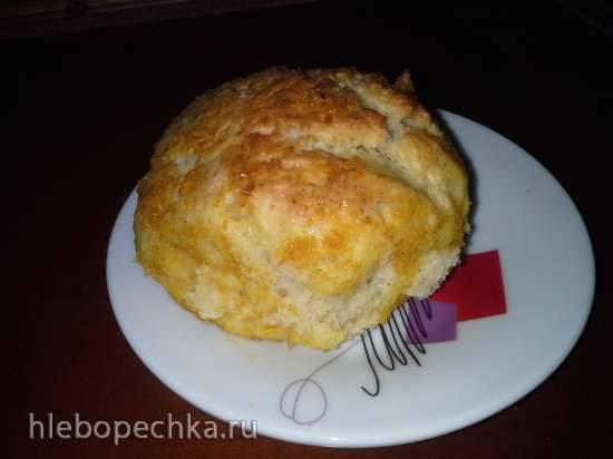 Ароматные булочки с цедрой (тесто без яиц)