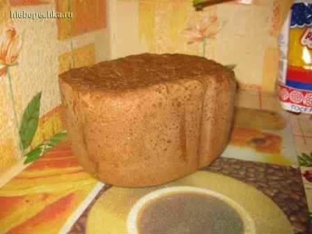 Хлеб ржаной заварной по новому (хлебопечка)