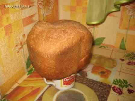 Хлебушек с чесноком