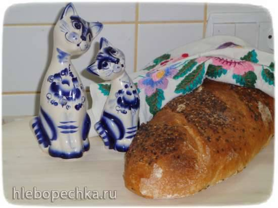 Хлеб с семолиной на опаре