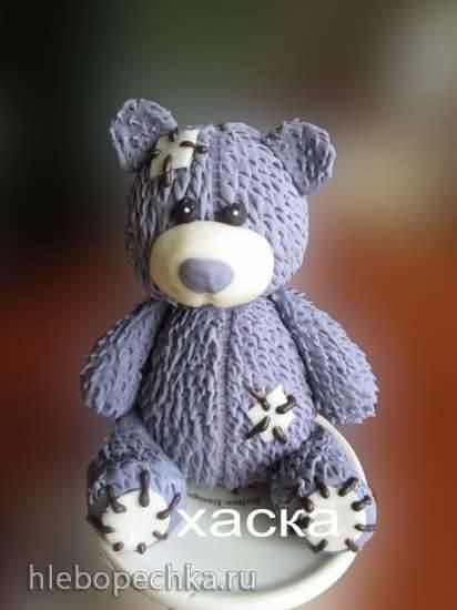 Мишка Тедди из мастики (мастер- класс)