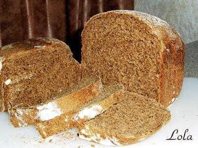 Ржаной хлеб (хлебопечка)