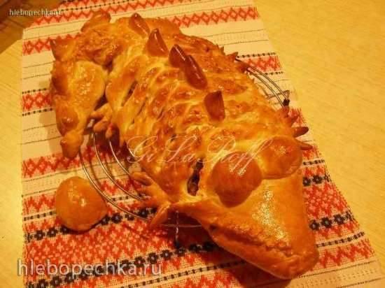 Пирог «Крокодил» (мастер-класс)