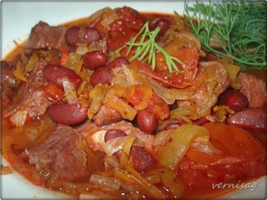 Мясо с фасолью в Cuckoo 1051