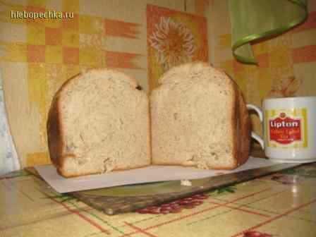 Гречнево-овсянный хлеб