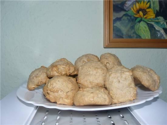 Печенье ореховое без яиц и молока