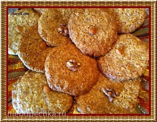 Мюсличеньки, или Печенье без муки, яиц и сахара...