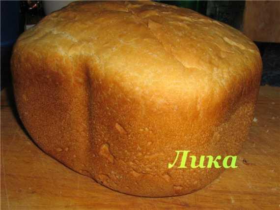 Пшенично-рисовый хлеб