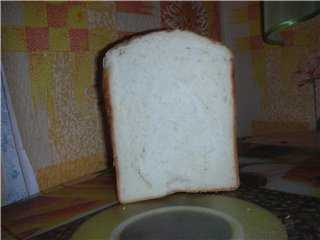 Быстрый творожно-сметанный хлеб в хлебопечке