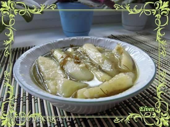 Огурцы в горчичной заливке (с белой горчицей)