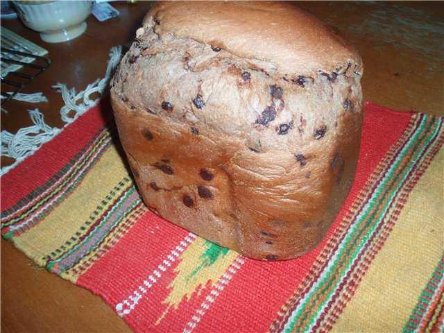Шоколадный хлеб с вишней и маком