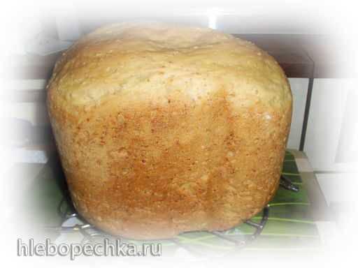 Итальянский хлеб с овсяными отрубями в хлебопечке