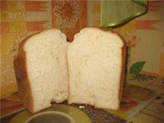 Пшенично -рисовой хлеб (хлебопечка)